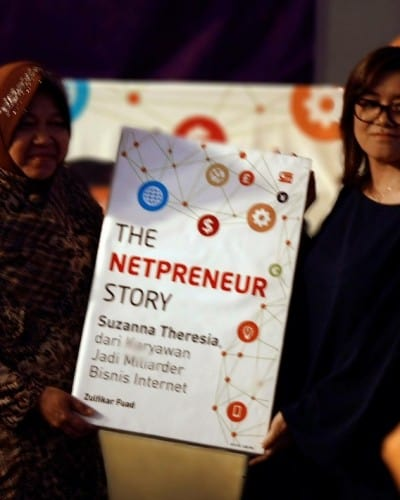 Review Buku The Netpreneur Story by Suzanna Theresia, $500.000 Dalam Waktu 7 Hari