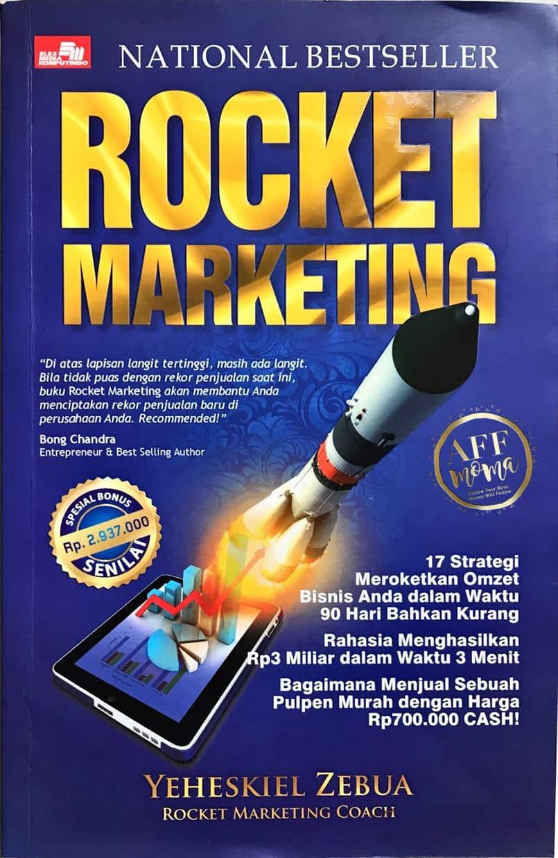 Review Buku Rocket Marketing by Yeheskiel Zebua