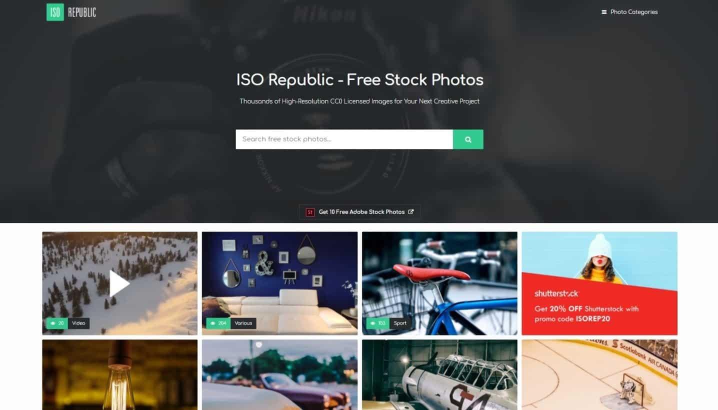 Website Tempat Download Gambar Gratis Untuk Blog Iso Republic