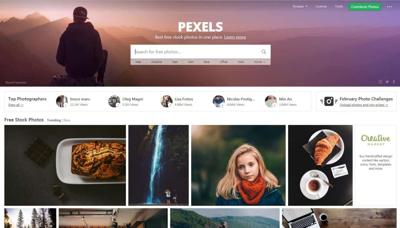 Website Tempat Download Gambar Gratis Untuk Blog Pexels