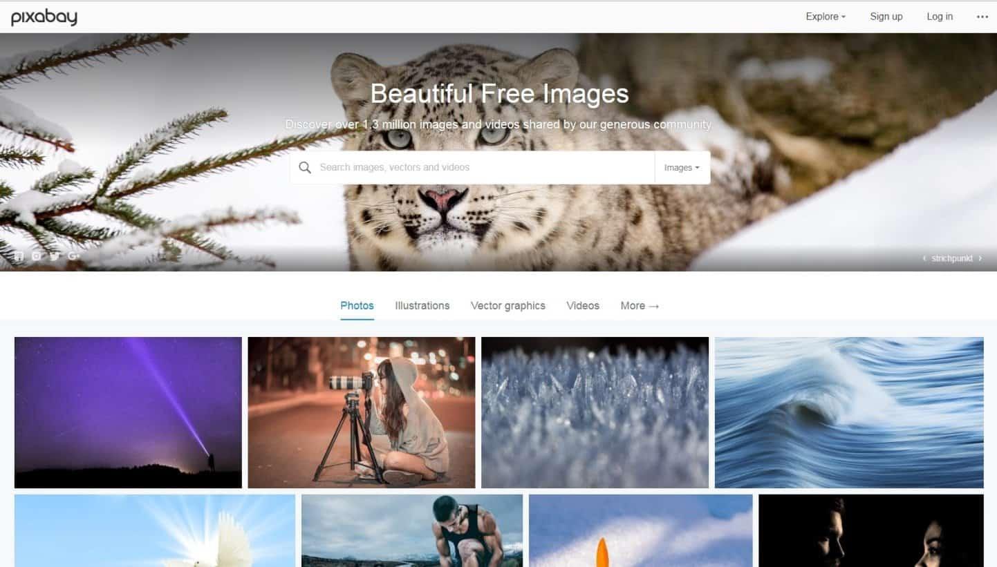 Website Tempat Download Gambar Gratis Untuk Blog Pixabay