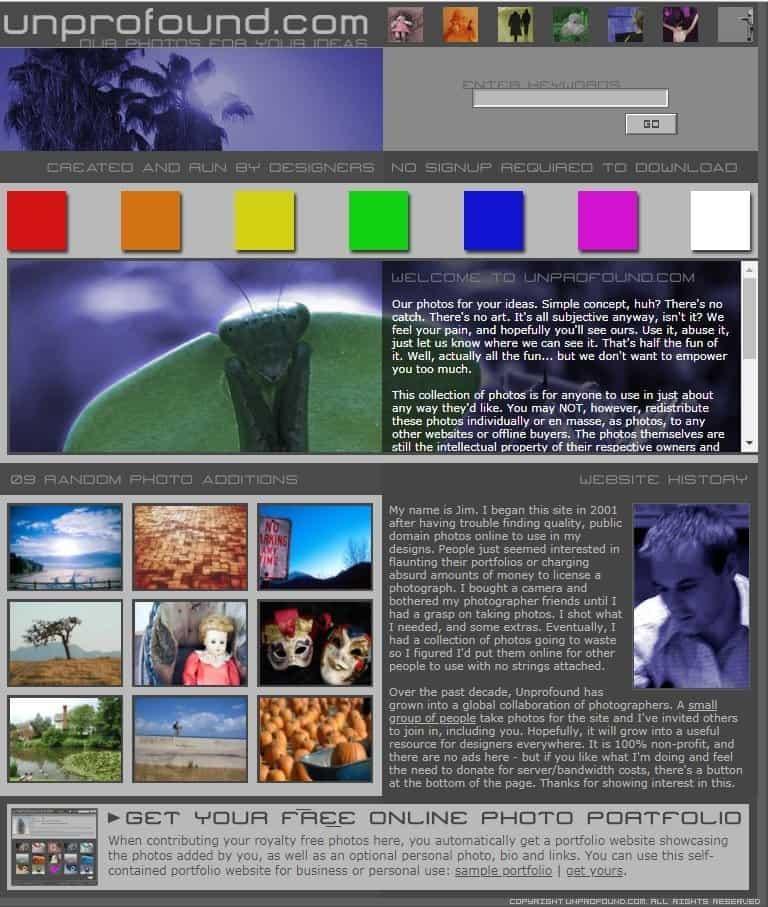 Website Tempat Download Gambar Gratis Untuk Blog Unprofond