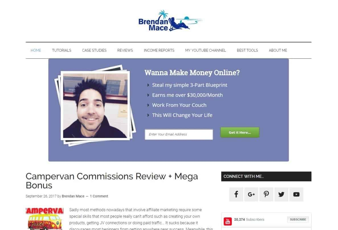 Blog Brendan Mace Internet Marketing