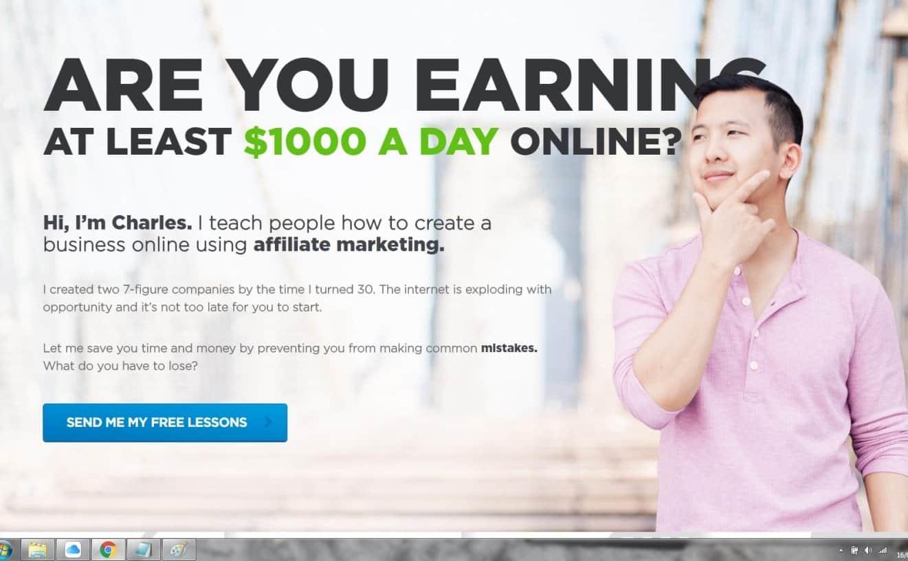 Blog Charles Ngo Affiliate Marketing