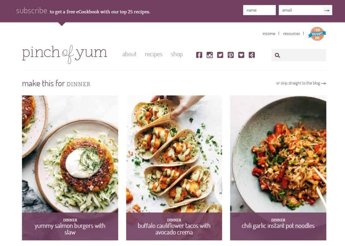 Blog Ibu Rumah Tangga Sukses Pinch of Yum