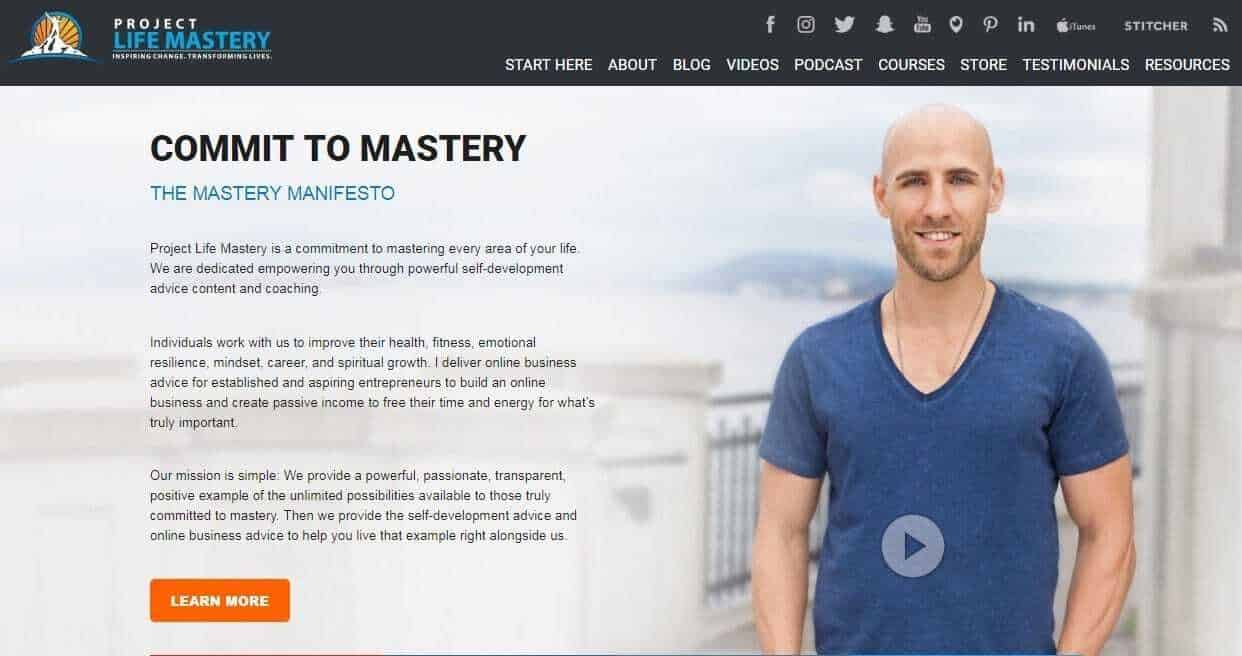 Project Life Mastery Stefan James