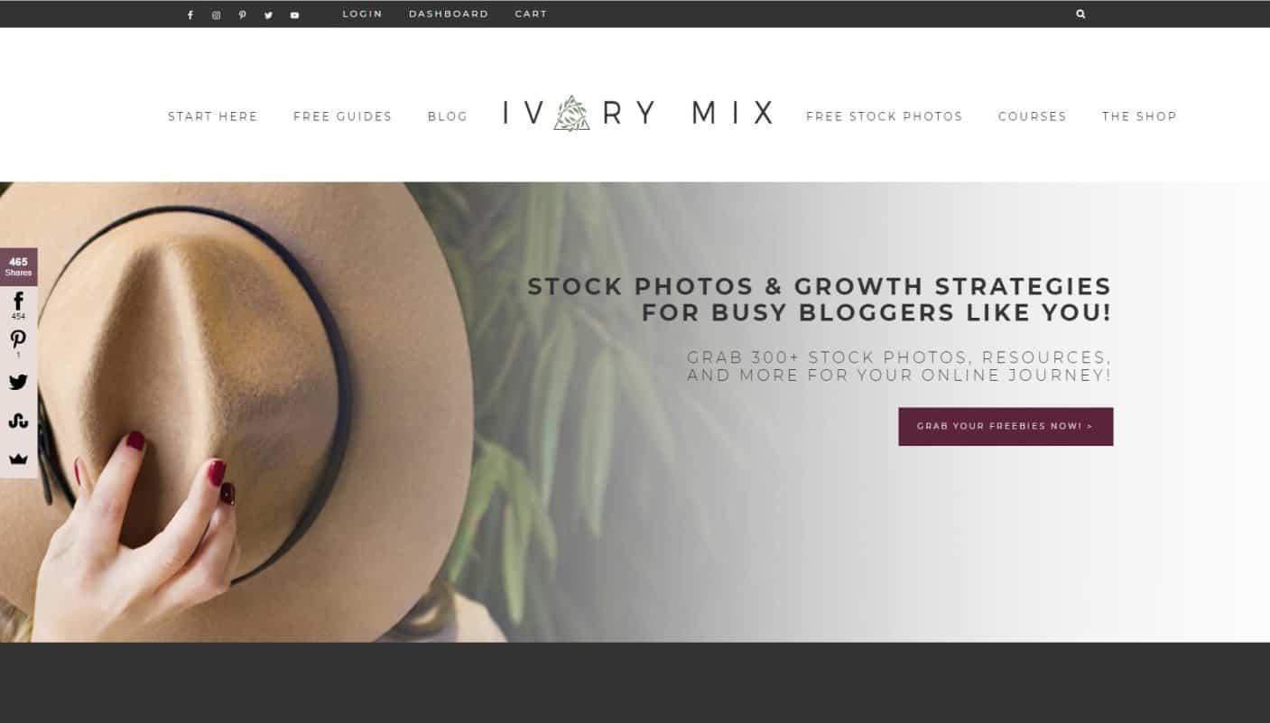 Tempat Beli Foto Keren Untuk Blog Ivory Mix