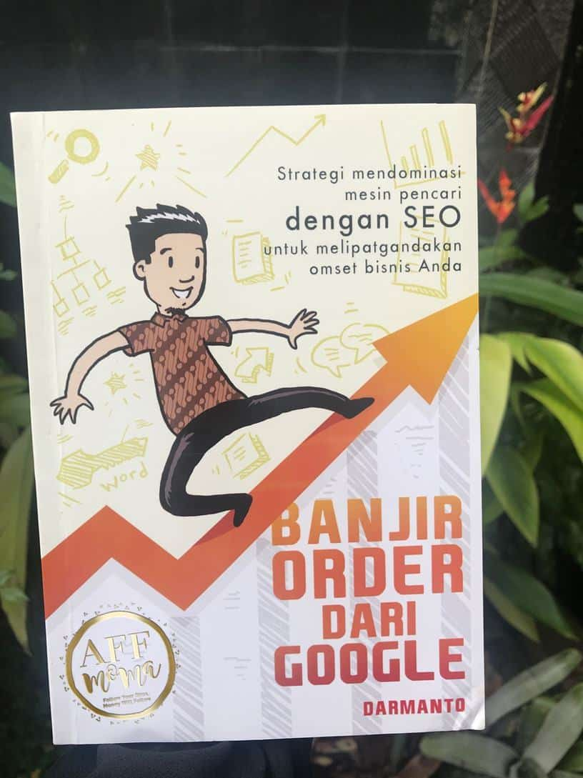 Review Buku Banjir Order dari Google by Darmanto