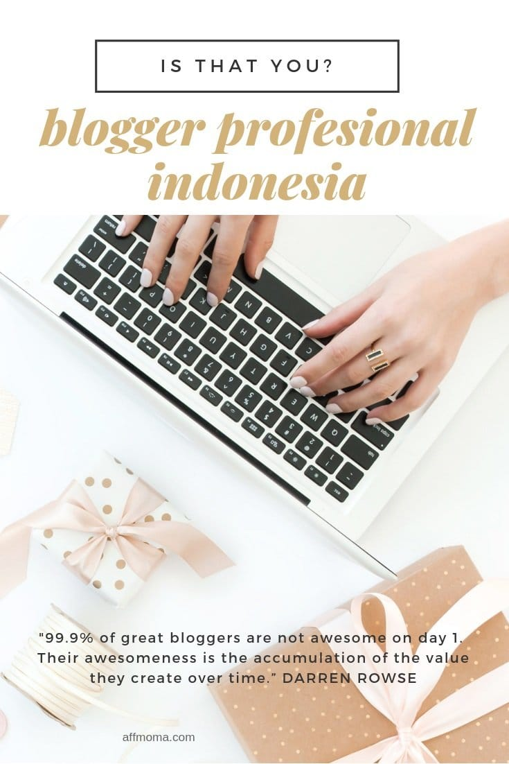 Blogger Profesional Indonesia, Is That You?
