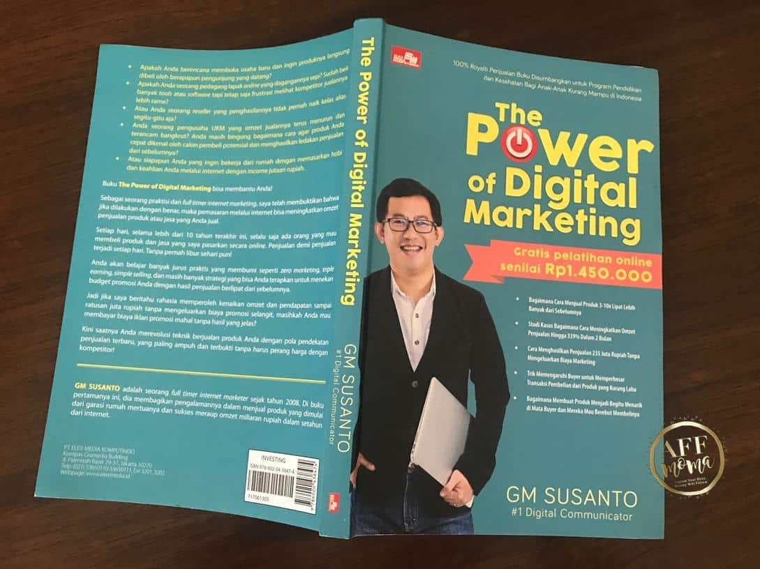 Review Buku The Power of Digital Marketing by GM Susanto