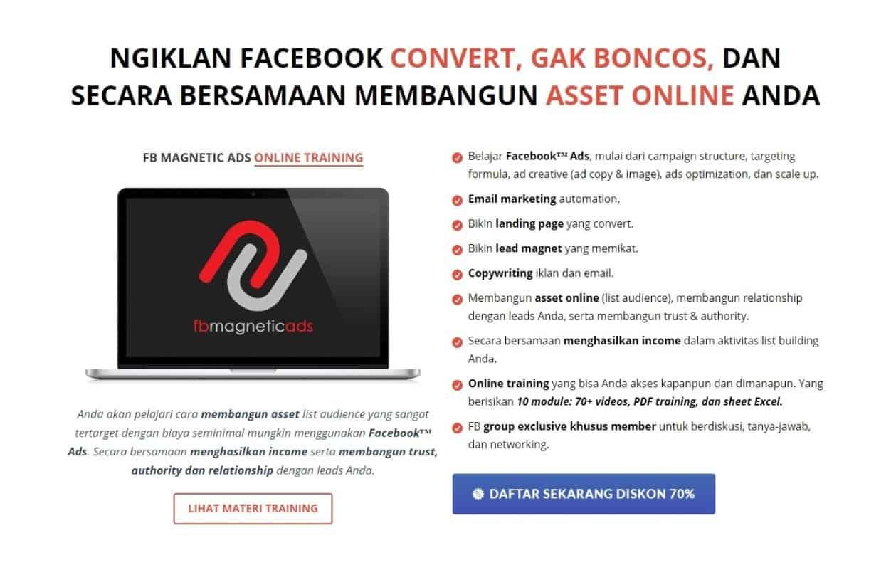 Review FB Magnetic Ads by Tantan Hilyatana 1