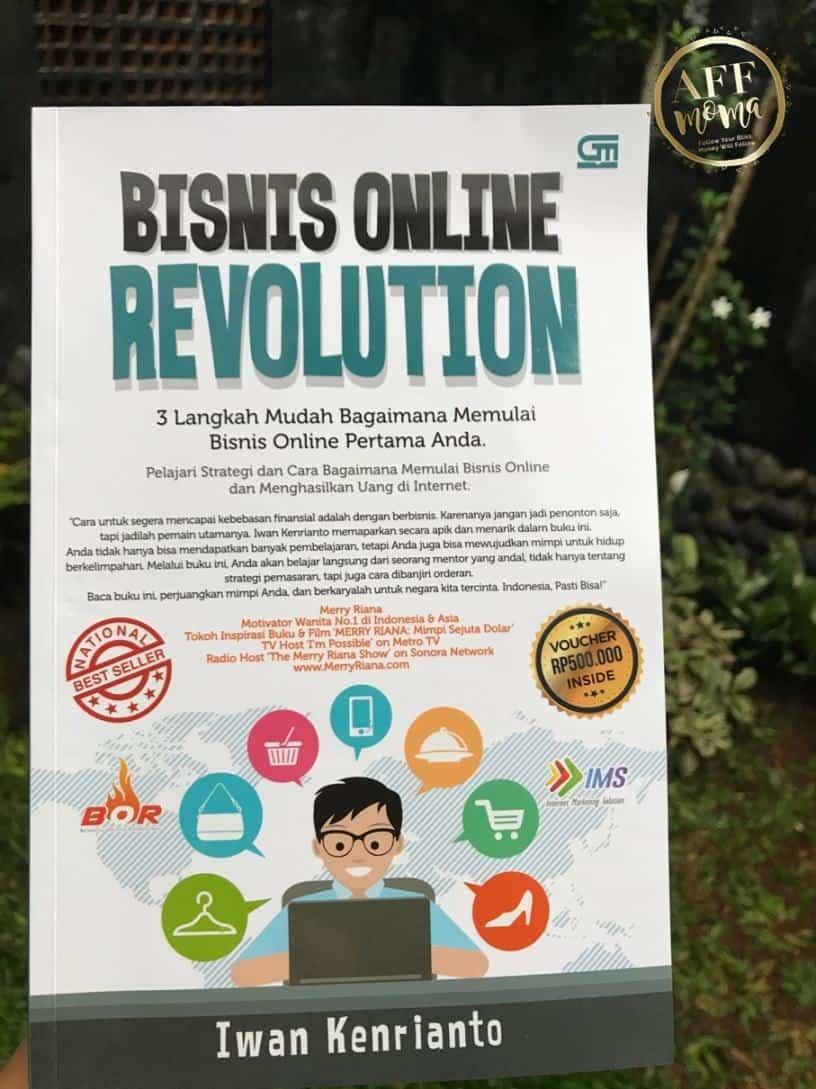 Review Buku Bisnis Online Revolution Iwan Kenrianto