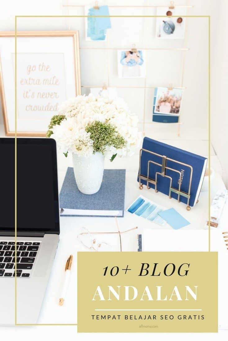 Referensi Blog Tempat Belajar SEO Gratisan
