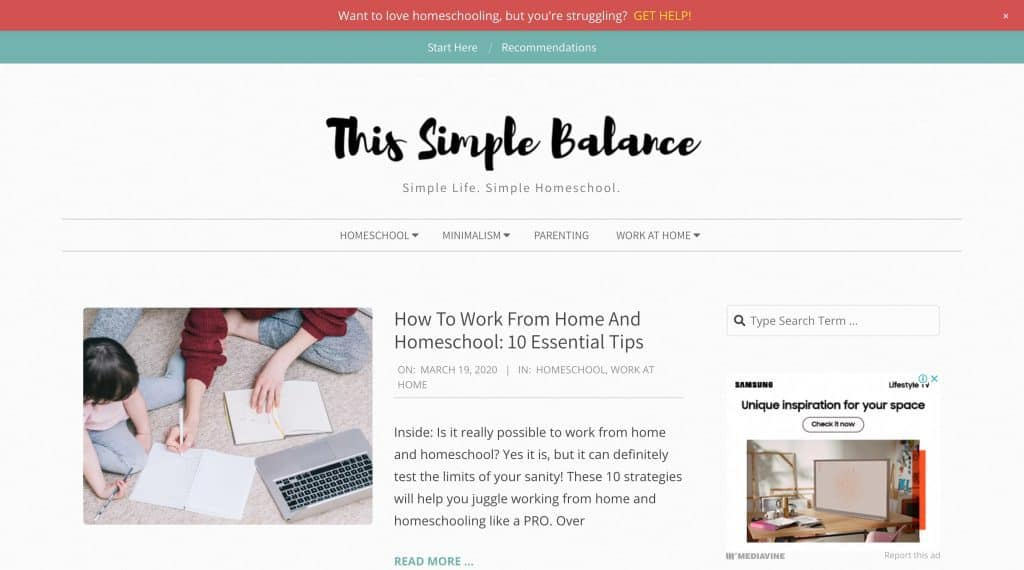 Blog Ibu Rumah Tangga This Simple Balanced
